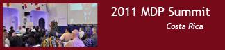 2011 MDP Summit