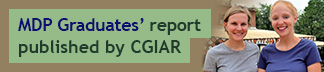 Kalie Lasiter and Stephanie Stawicki - CGIAR report