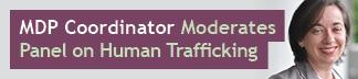 MDP Community Partnership Coordinator Moderates Panel on Human Trafficking