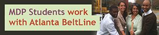 Emory MDP Students work with Atlanta BeltLine