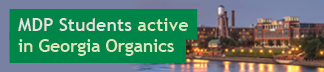 Students active in Georgia Organics