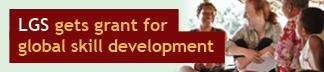 LGS gets grant for global skill development