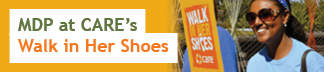 MDP at CARE's Walk in Her Shoes