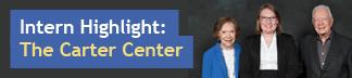Intern Highlight: The Carter Center