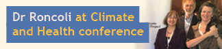 MDP Assc Director attends Climate and Health conference at the Carter Center