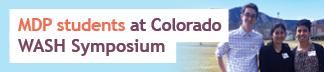 Emory MDP students at Colorado WASH Symposium