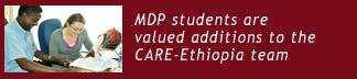 Masters in Development Practice: CARE Ethiopia