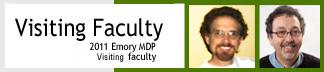 Emory MDP Visiting Faculty